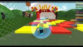 Roblox FAils (cours d'obsticle) McDonald?