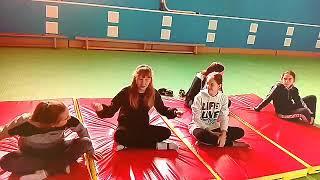 Урок физкультуры по теме гимнастика