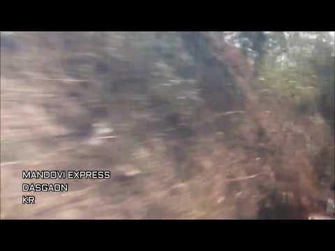 Konkan Railway : Mandovi Express Over Savitri Bridge..