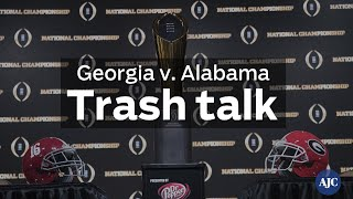 VIDEO: Georgia v. Alabama — Trash talk