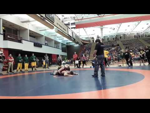 2016 Dino Invitational: 72 kg Final Kyle Horvath vs. Lucas Hoffert