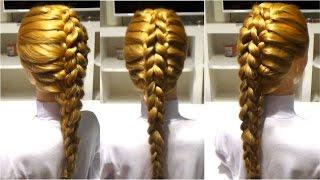Коса. Прическа на длинные и средние волосы