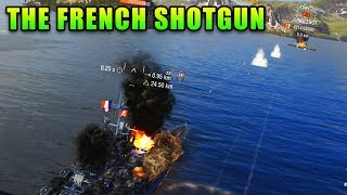 The French Shotgun - Jean Bart Gameplay | World of Warships
