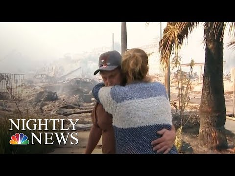 Tens Of Thousands Flee Massive Southern California Wildfires | NBC Nightly News