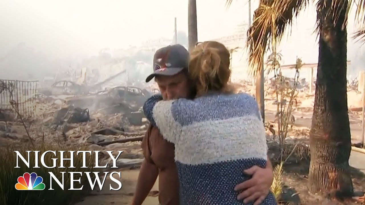 Tens of thousands evacuated as California wildfires rage