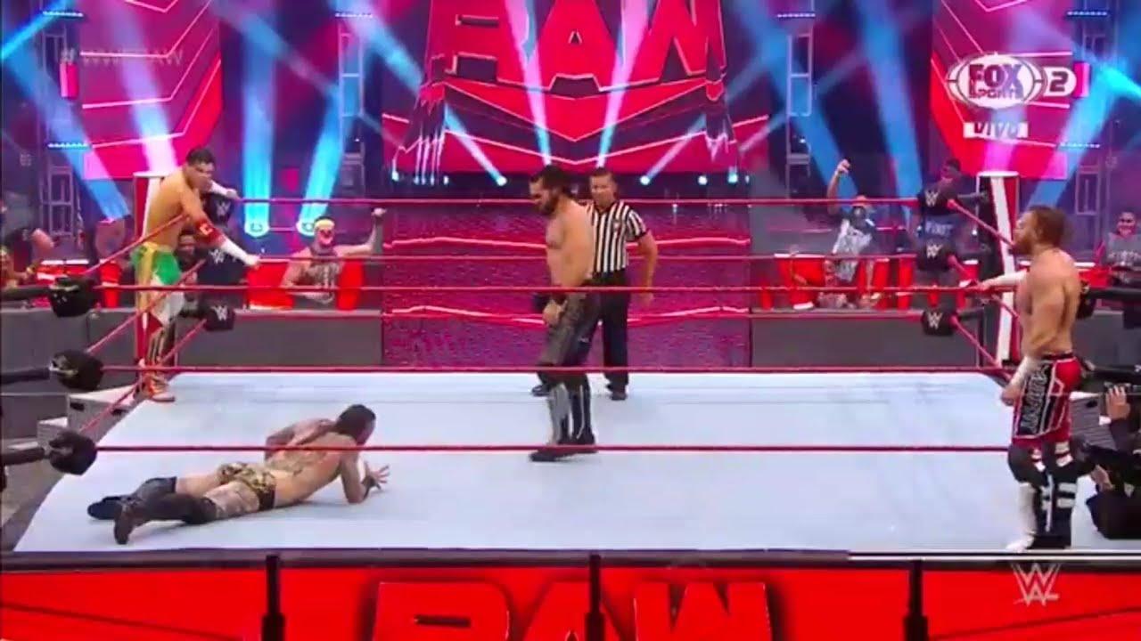 Download Seth Rollins & Murphy Vs Aleister Black & Humberto Carrillo - WWE Raw 29/06/2020 (En Español)