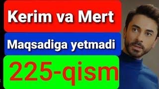 Qora Niyat 225 qism uzbek tilida turk filim кора ният 225 кисм