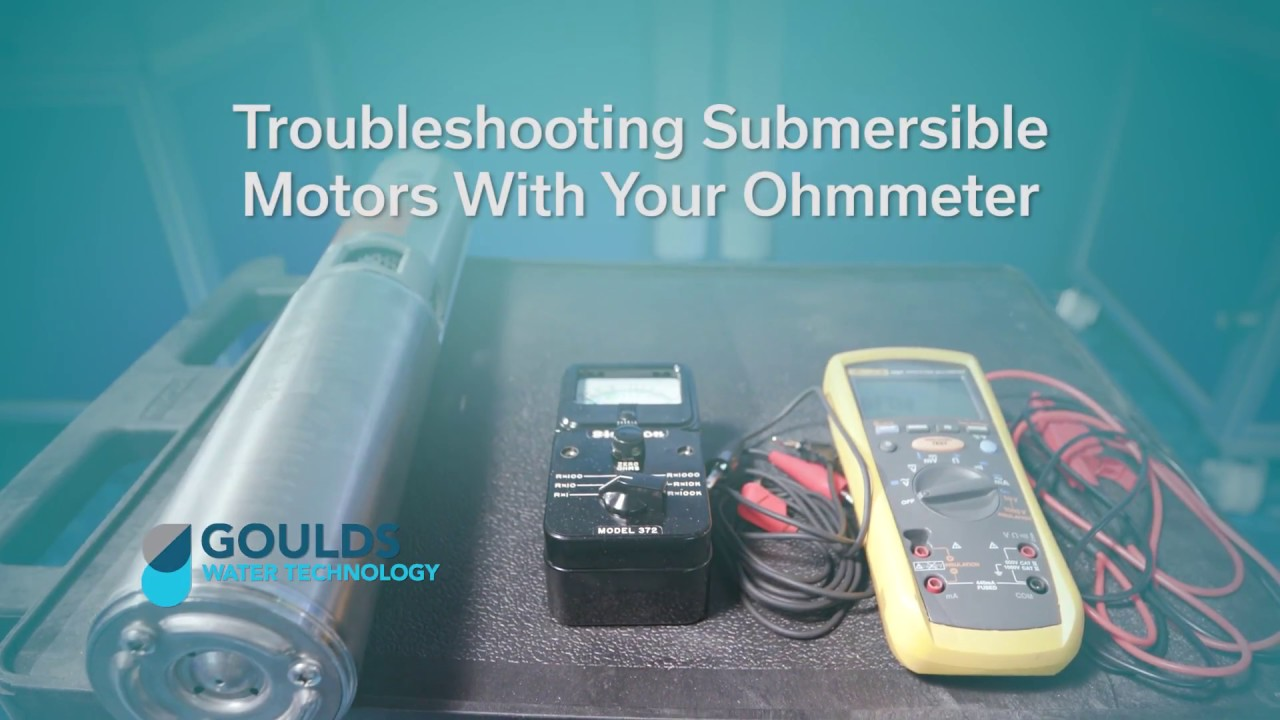How To Troubleshoot Submersible Motors With Your Ohmmeter Youtube Single Phase Starter For Pump