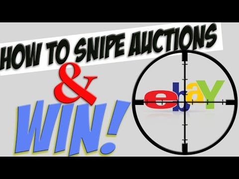 How YOU can SNIPE eBay auctions and STEAL the WIN!