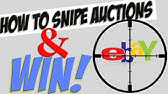 Bidnip Review Sniping Website For Ebay Why I Recommend It How To Win Auctions On Ebay Youtube