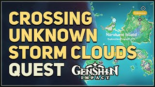 Crossing Unknown Storm Clouds Genshin Impact