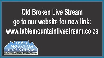 Table Mountain Live Stream | Cape Town | South Africa