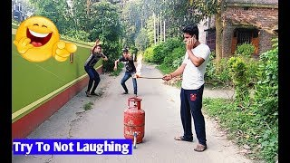 Смотреть Must Watch New Funny😂 😂Comedy Videos 2018 - Episode 13 || Funny Ki Vines || онлайн