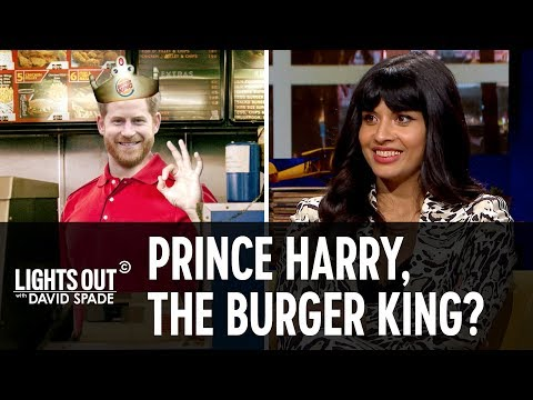 Could Prince Harry Finally Be King? (Feat Jameela Jamil) - Lights Out with David Spade