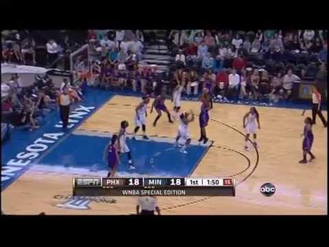 Phoenix Mercury vs. Minnesota Lynx May 20, 2012 (Full Game) Sammy Prahalis