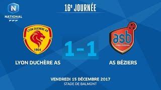 Lyon la Duchère vs AS Beziers full match