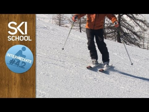 Intermediate Ski Lesson #4.2 - Edging