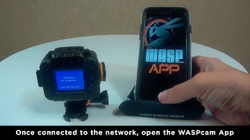 How to Use the WASPcam App: iOS