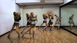 mirrored halo bbde girl dance practice