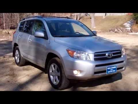 Best Price Lowest Price Used 2007 Toyota RAV 4 Limited 4 Wheel Drive Portland Maine
