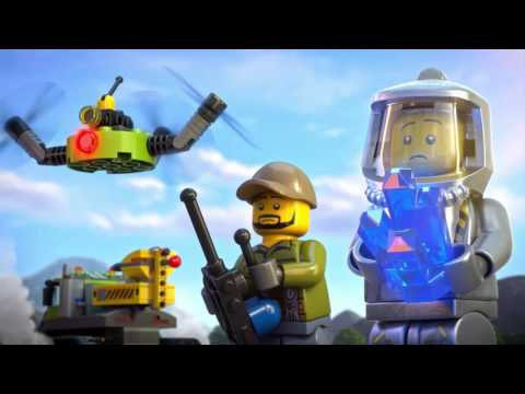 Explore the Secrets of the Lava - LEGO City - 2HY16