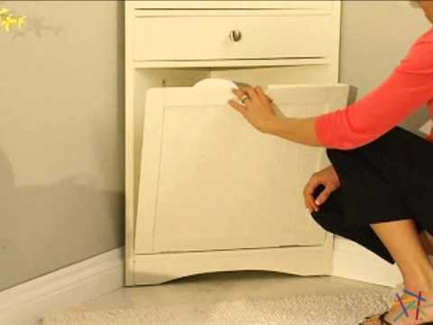 Cirrus Corner Wall Cabinet Hamper Product Review Video