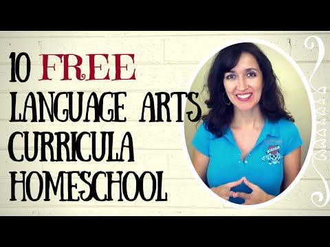 10 FREE Language Arts Curriculum Homeschool