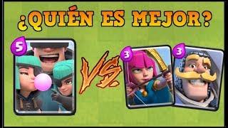 PILLOS vs CABALLERO Y ARQUERAS | CLASH ROYALE | Batalla