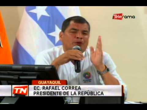 Ec. Rafael Correa Presidente de la República