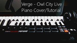verge owl city piano live cover tutorial