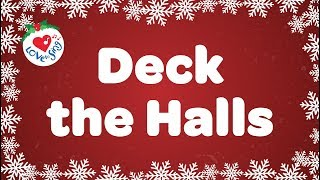 Deck the Halls with Lyrics | Kids Christmas Songs | Children Love to Sing thumbnail