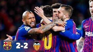 FC barcelona vs Valencia 2-2
