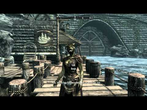 Let's Play  The Elder Scrolls 5: Skyrim - part 52 East Empire Company Warehouse