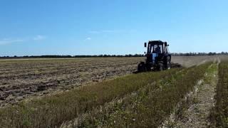 Traktor MTZ 82.1 va harrow AG-2.4 GHz