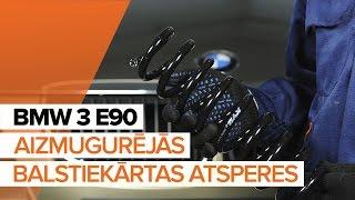 Kā nomainīt Piekare BMW 3 (E90) - video ceļvedis