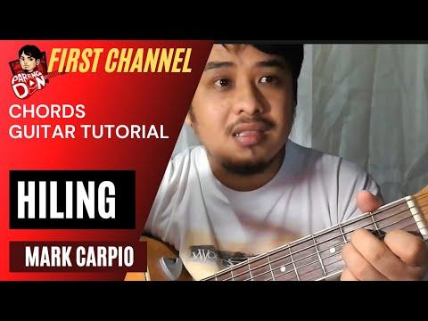 HILING - Mark Carpio - Chords Acoustic Guitar Lesson