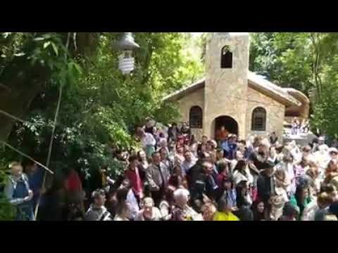 Hora da Graça Universal na Capela das Aparições de Nossa Senhora Rosa Mística Rainha da Paz