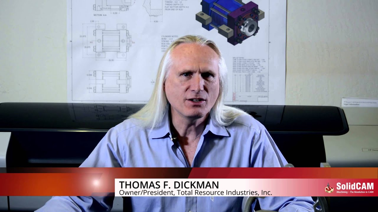 Thomas F. Dickman over SolidCAM Software Onderhoud