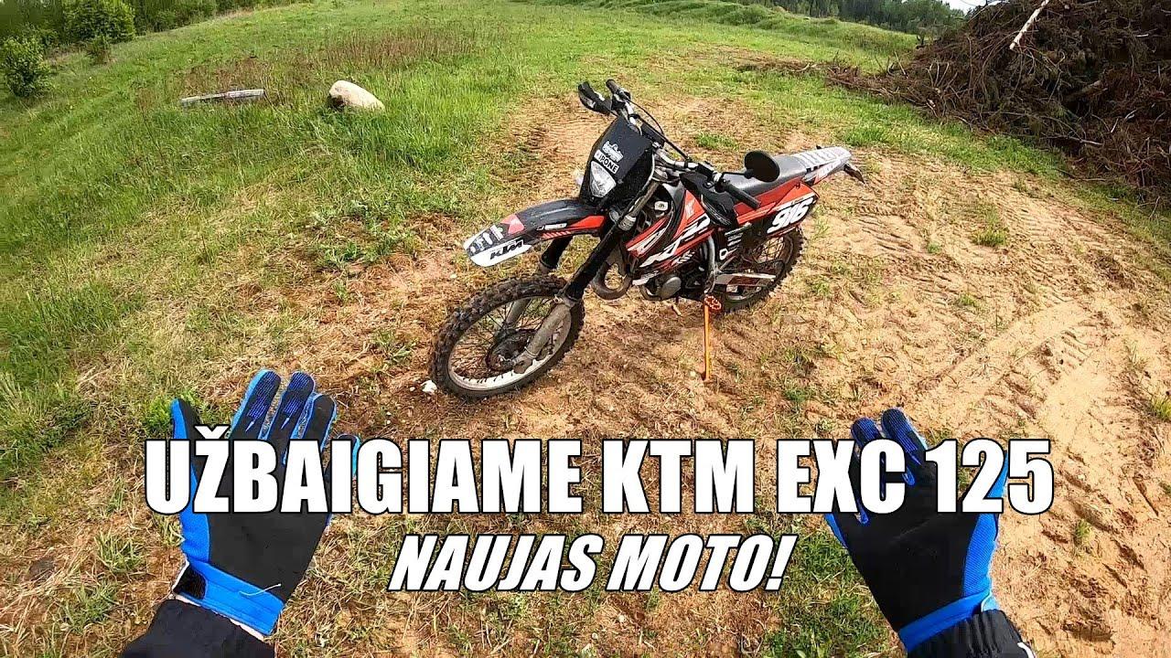 KTM EXC 125 ir Husqvarna TE450 ENDURO VLOG!