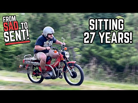 1979 Honda CT90 Budget Restoration | Back on the Road after 27 YEARS!