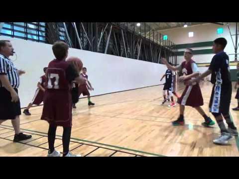 6th Grade Team Artis VS Hoopsters 4 23 16
