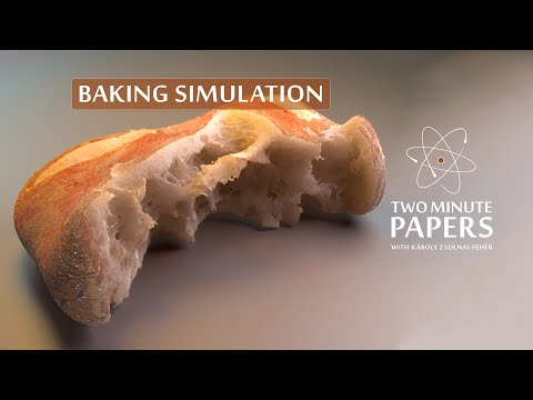 Baking And Melting Chocolate Simulations Are Now Possible! 🍫