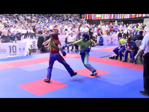 Grace Chandler v Tyra Barada Hungarian World Cup 2017