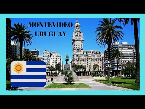 URUGUAY, a walking tour of beautiful MONTEVIDEO