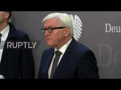 Germany: US foreign policy 'will be less predictable' Steinmeier says of Trump victory