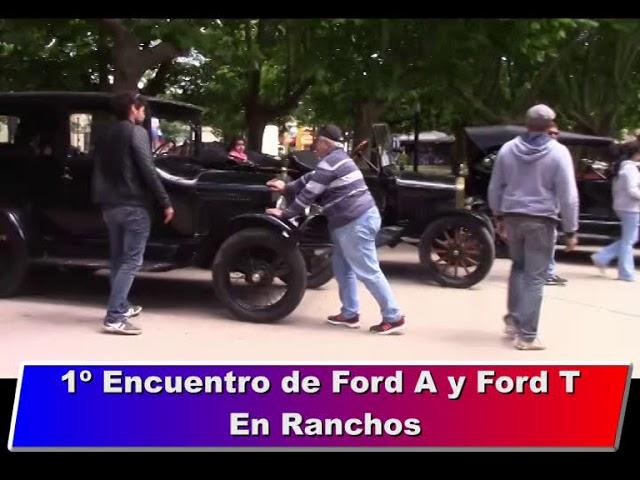 1º Encuentro Ford A y Ford T