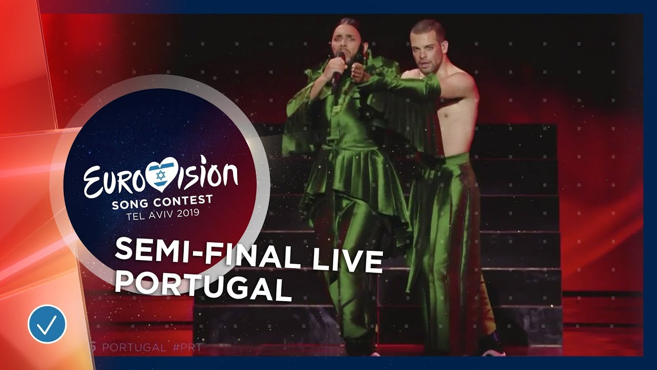 Portugal - LIVE - Conan Osiris - Telemóveis - First Semi-Final - Eurovision  2019