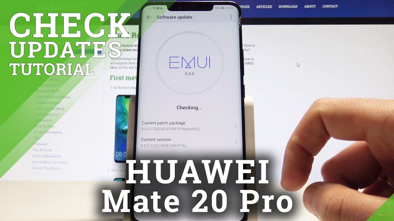 How to Check Update on HUAWEI Mate 20 Pro - Check Current System Version