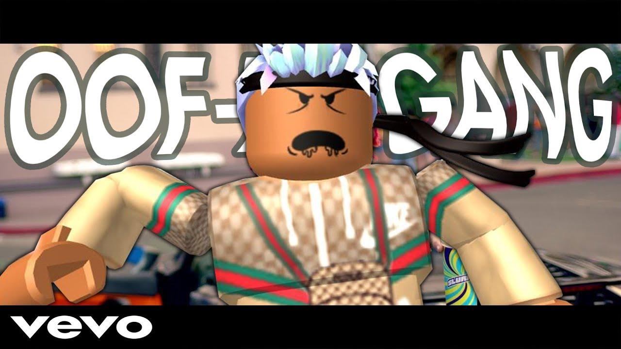Lil Pump Gucci Gang Roblox Parody Oof Er Gang Youtube