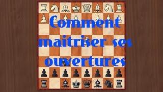 Comment connaître ses ouvertures aux échecs - Astuce